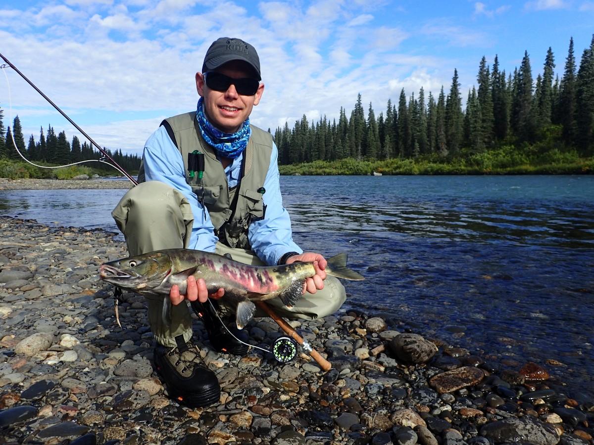 Talkeetna fly fishing with dave fish alaska dfa alaska for Fishing vacation packages