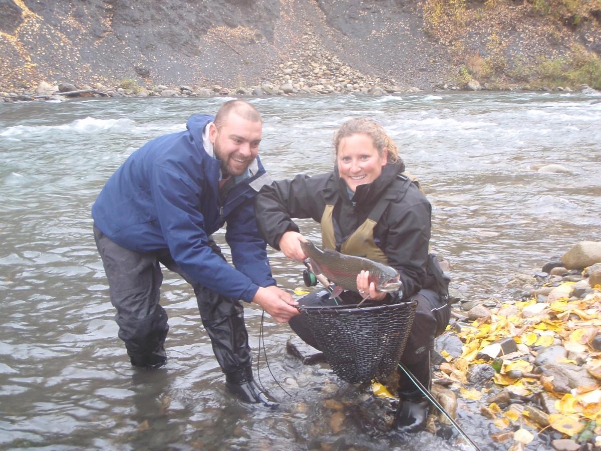 Talkeetna fly fishing with dave fish alaska dfa alaska for Fly girl fishing charters
